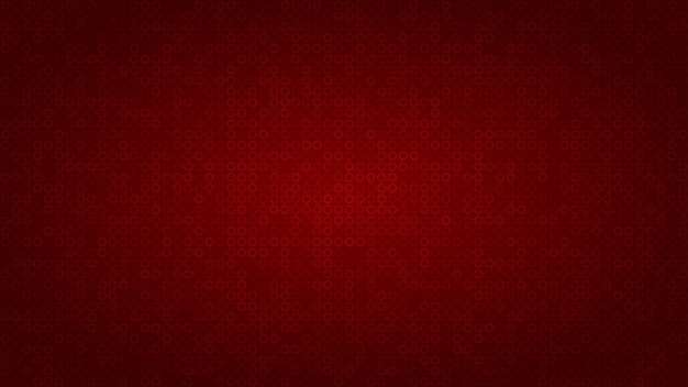 Абстрактный фон из маленьких колец в красных тонах.
