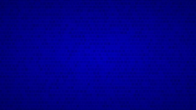Абстрактный фон из маленьких квадратов в оттенках синего цвета