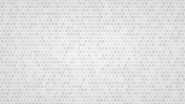 Абстрактный фон из маленьких квадратов в оттенках серого цвета