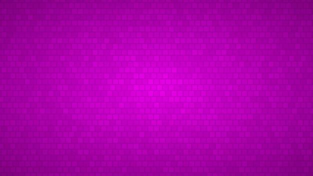 Абстрактный фон из маленьких квадратов в оттенках фиолетового цвета