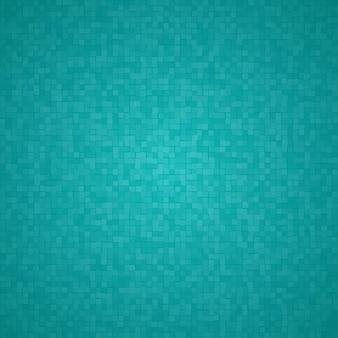 Абстрактный фон из маленьких квадратов или пикселей в голубых тонах