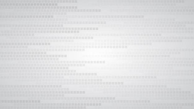 Абстрактный фон из маленьких квадратов или пикселей в оттенках серого и белого цветов