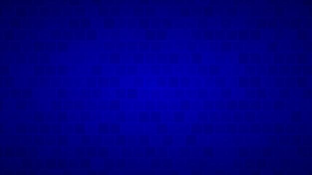 Абстрактный фон квадратов в оттенках синего цвета