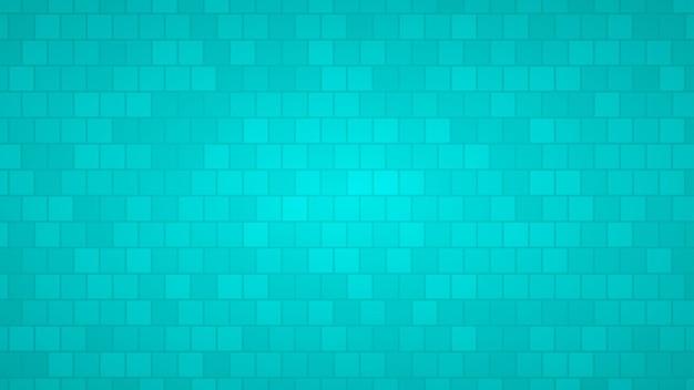 Абстрактный фон квадратов в оттенках голубого цвета