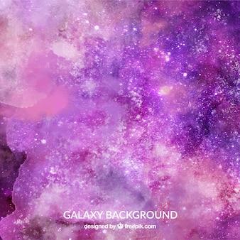 Абстрактный фон из акварельных звезд