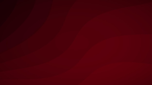 赤の色合いの波線の抽象的な背景