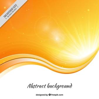 Abstract background in orange tones