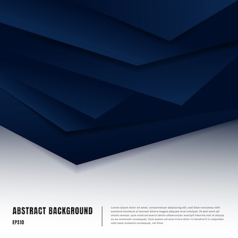 Abstract background paper art style layout template