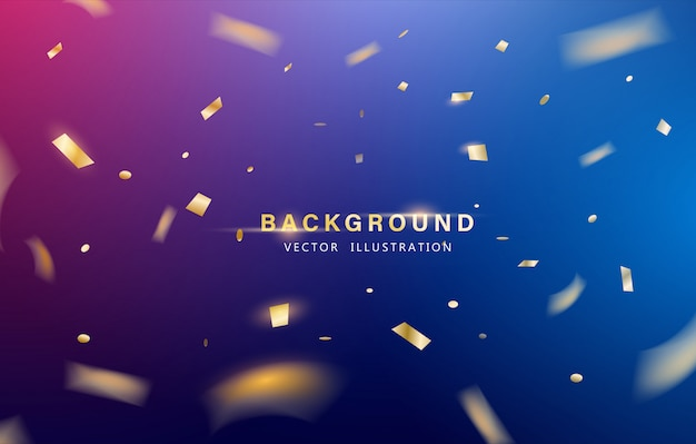 Abstract background. party celebration or special birthday background. Premium Vector