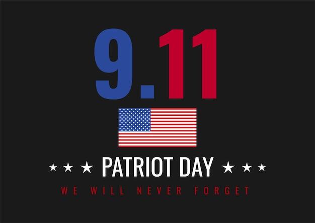 Sfondo astratto per patriot day