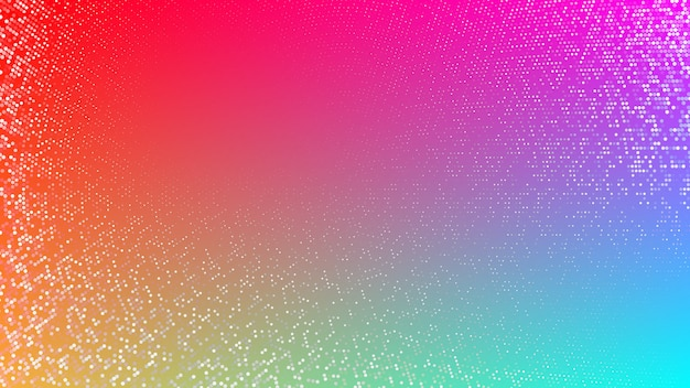 Abstract background or pattern with halftone elements
