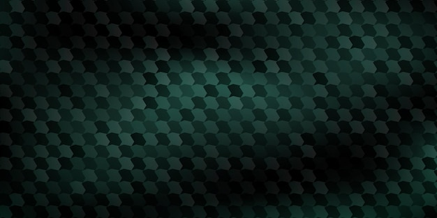 Abstract background of polygons fitted to each other, in dark green colors