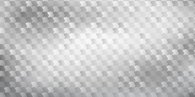 Abstract background of polygons fitted to each other, in white and gray colors