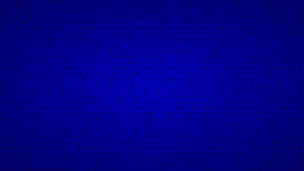 Abstract background of small squares in shades of blue colors
