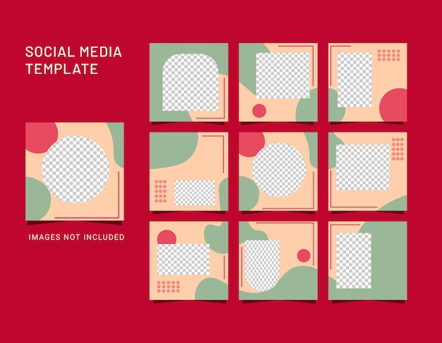 Abstract background for social media post