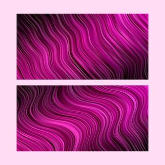 Абстрактный фон. полосатые обои. набор в розовом цвете
