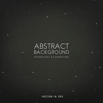 Abstract background for technology in black