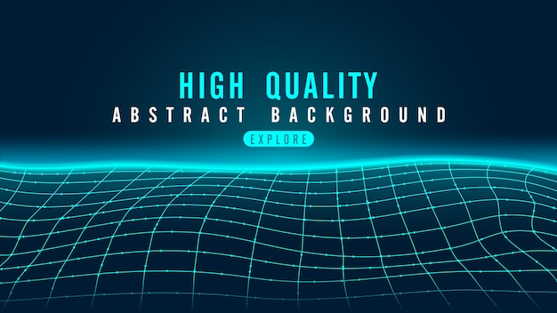 Abstract background in technology theme with line. the floor in futuristic system concept.
