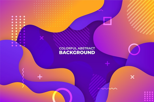 Abstract background theme