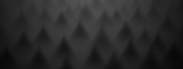 Abstract background of triangles in black colors
