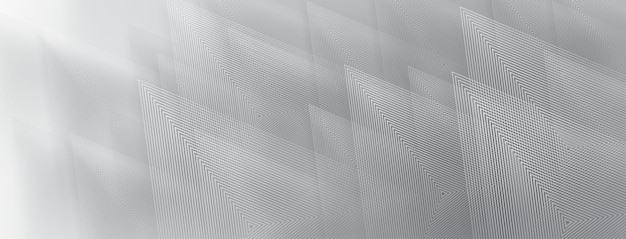 Abstract background of triangles in gray colors