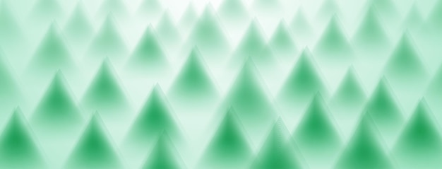 Abstract background of triangles in green colors