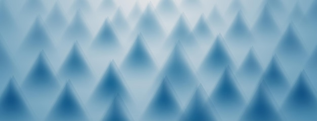 Abstract background of triangles in light blue colors