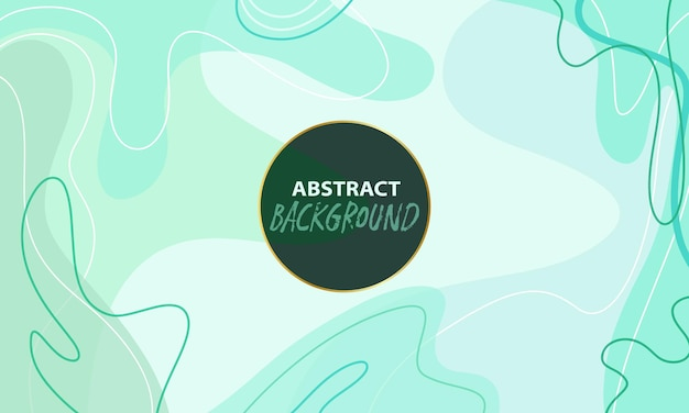 Abstract background in turquoise tones. editable in vector