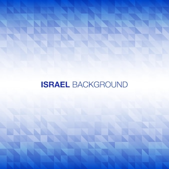 Abstract background using israel flag colors