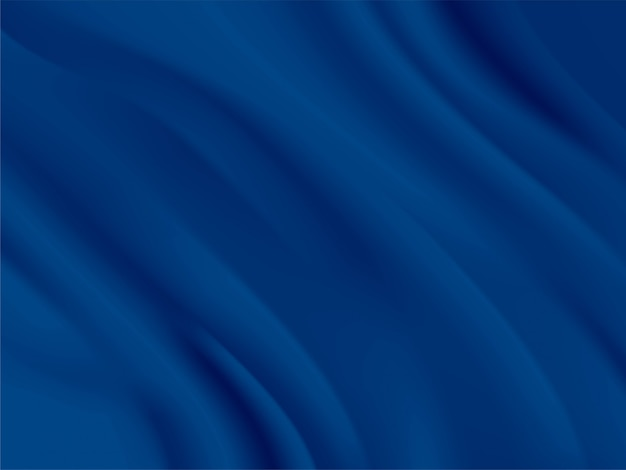Abstract background vector classic blue, color of the year 2020