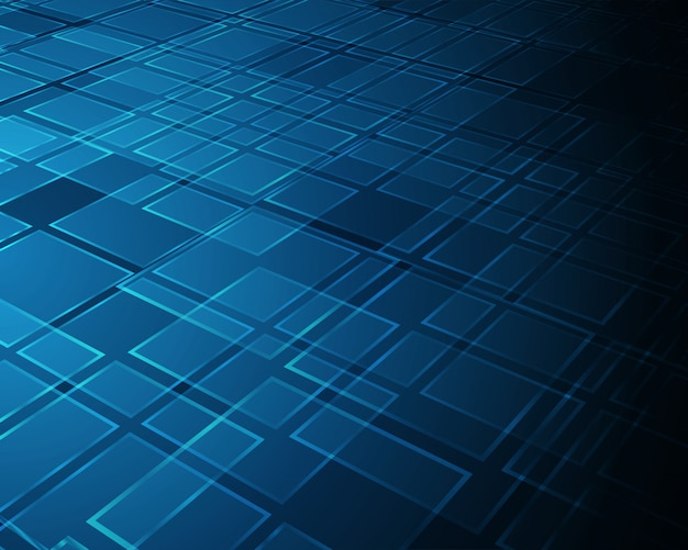 Abstract background virtual reality 3d space squares shapes