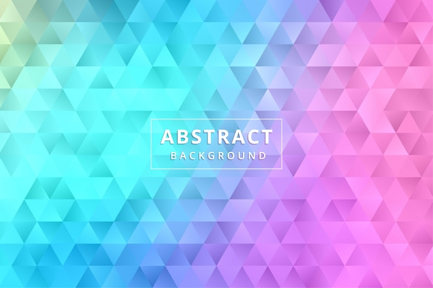 Абстрактные обои фона. красочный многоугольник шестиугольник премиум векторы