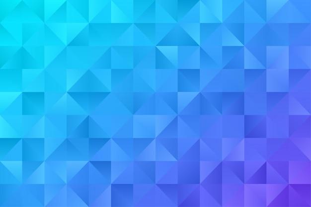 抽象的な背景の壁紙。カラフルな三角形ポリゴン六角形プレミアムベクトル