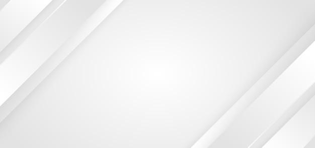 추상적 인 배경 흰색과 회색 대각선 줄무늬