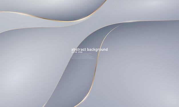 Vip 럭셔리 다이내믹한 추상적 배경 흰색 검은색 포스터의 아름다움.