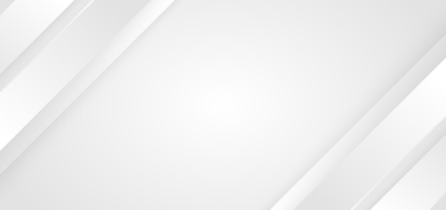 Abstract background white and gray diagonal stripes