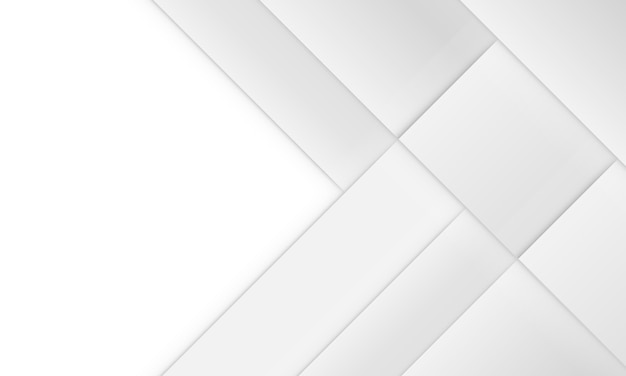 Abstract background white and gray geometric square with shadow. design for your template.