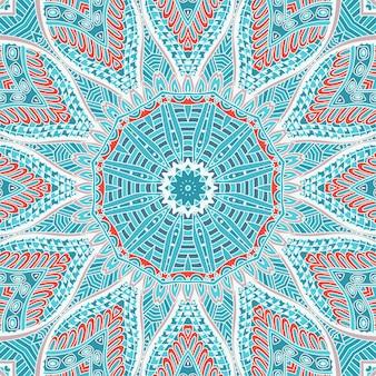 抽象的な背景冬の休日のシームレスな幾何学模様