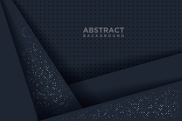 Abstract background with 3d paper art style.