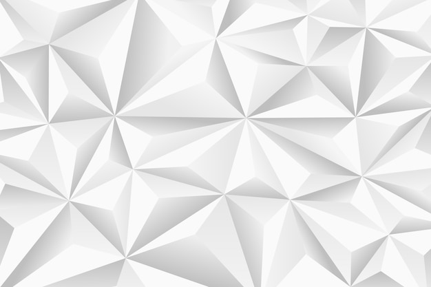 Abstract background with 3d polygons