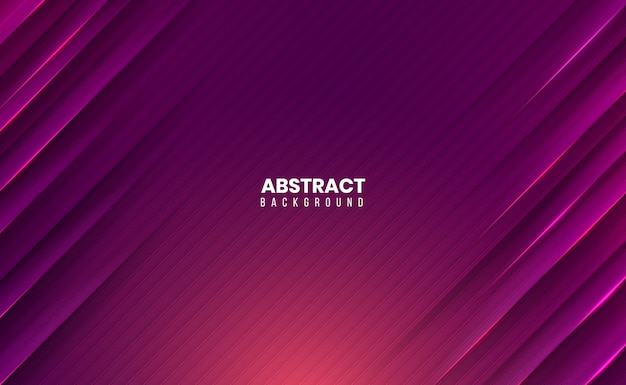 Abstract background with 3d sharp and clean edges