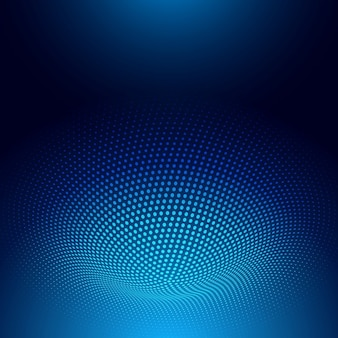Abstract background with a dots hole