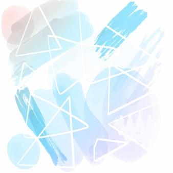 手描きの水彩デザインの抽象的な背景