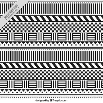 Sfondo astratto con forme in bianco e nero