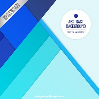 Abstract background with blue layers