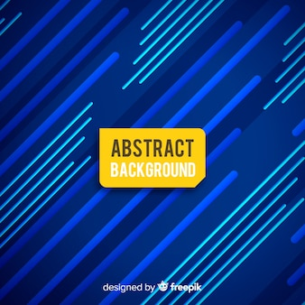 Abstract background with blue lines