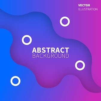 Abstract background with blue and pink gradient