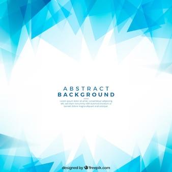 Абстрактный фон с синими формами