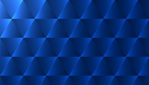 Abstract background with blue triangle pattern