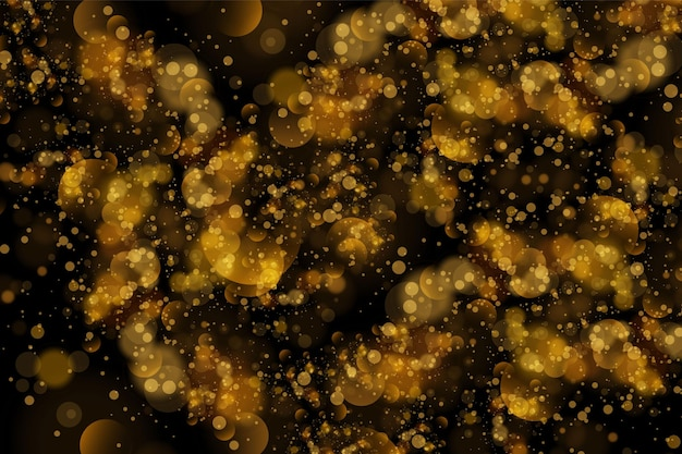 Abstract background with bokeh effect.texture background abstract black and white or silver glitter and elegant for christmas. dust white. sparkling magical dust particles. magic concept.